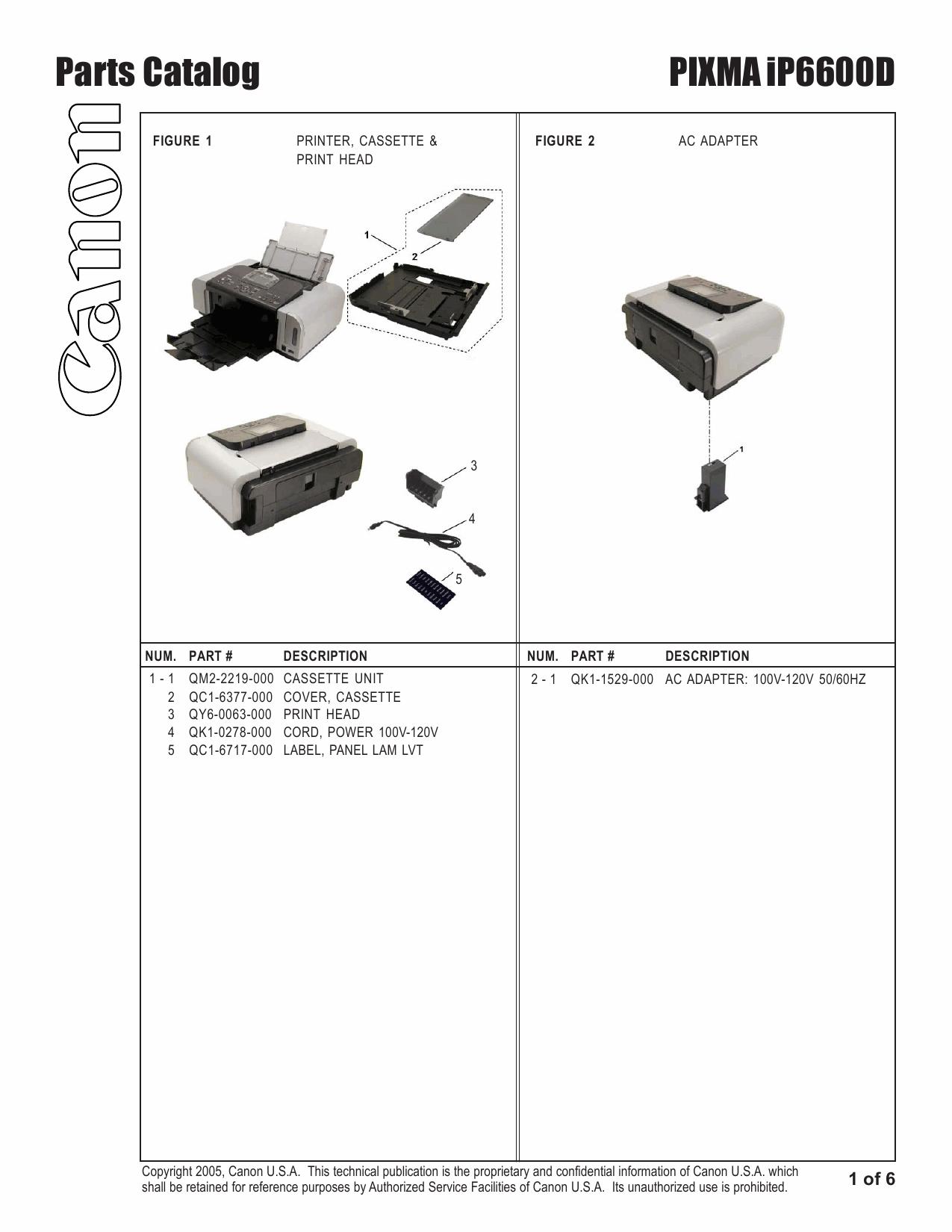 Электрическая схема canon ip4000